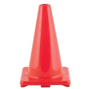 "Picture of Champion Sports Hi Visibility Flexible 9"" Vinyl Cone Orange"