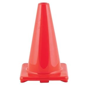 "Picture of Champion Sports Hi Visibility Flexible 12"" Vinyl Cone Orange"