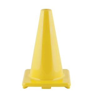 """Picture of Champion Sports Hi Visibility Flexible 12"""" Vinyl Cone Yellow"""