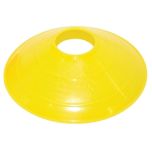 """Picture of Champion Sports 12"""" Large Yellow Disc Cone"""