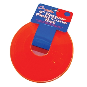 Picture of Champion Sports Saucer Field Set of 4 Orange Cone Set