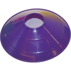 """Picture of Champion Sports 9"""" Saucer Field Cone Purple"""