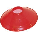 """Picture of Champion Sports 9"""" Saucer Field Cone Red"""