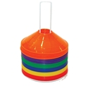 "Picture of Champion Sports 9"" Saucer Field Cone Set"