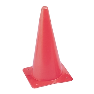 """Picture of Champion Sports Hi Visibility Fluorescent 12"""" Poly Cone"""