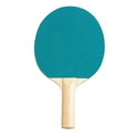 Picture of Champion Sports Table Tennis Rubber Face Paddle Brown Handle