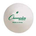 Picture of Champion Sports 1 Star Tournament Table Tennis Ball