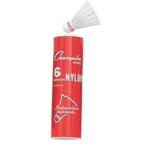 Picture of Champion Sports Nylon Outdoor Shuttlecocks