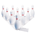 Picture of Champion Sports Plastic Bowling Pin Set