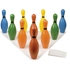 Picture of Champion Sports Multi-Color Plastic Bowling Pin Set