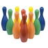 Picture of Champion Sports Multi-Color Rhino Skin Bowling Pin Set