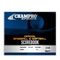 Picture of Champro Baseball/Softball Scorebook