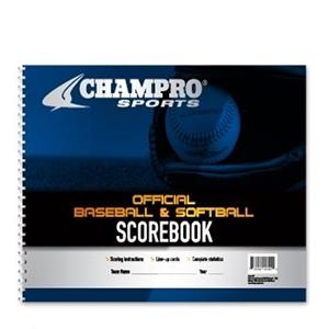 Picture of Champro Baseball/Softball Scorebook