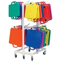Picture of Champion Sports Scooter ABS Storage Cart
