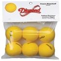 Picture of Diamond Sports Lightweight Yellow Foam Balls