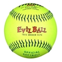 Picture of Trump® MP-EVIL-44-MAX-Y Evil Sports 12 Inch 44/525 Yellow Leather Cover Official Softball