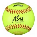 Picture of Trump® NFHS-FP-12-Y-ASA 12 Inch 47/375 NFHS Approved Fastpitch ASA Leather Softball