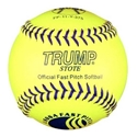 Picture of Trump® FP-11-Y-375 11 Inch USSSA Blue Stitch Leather Fastpitch Softball (375 Compression)
