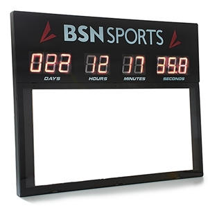 Picture of BSN Count Down to Game Day Clock