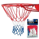 "Picture of Champro 21"" Braided Nylon Basketball Net in Red, White & Blue"