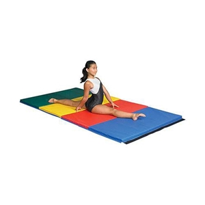 """Picture of SSN 2 1/2"""" Thick Extra Firm/Soft Combo Gymnastics Mats"""