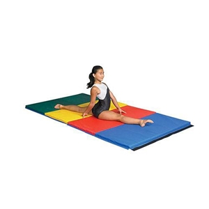 """Picture of SSN 1 1/2"""" Thick Extra Firm Gymnastics Mats"""