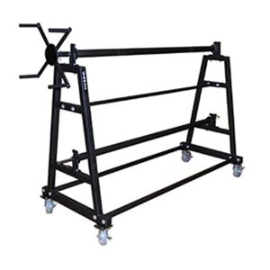 Picture of Putterman EnviroGard Gym Floor Cover Storage Cart Rack