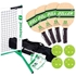 Picture of Pickleball 3.0 Tournament Net & Frame Set with Diller Wood Paddles