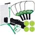 Picture of 3.0 Pickleball Tournament Net & Frame Set with Champion LT Composite Paddles