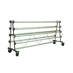 Picture of Gym Floor Cover Mobile Storage Racks