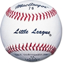 Picture of MacGregor 76C Little League Baseballs