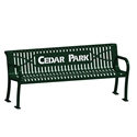 Picture of BSN Lexington Wave Bench