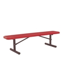 Picture of BSN Ultracoat Thermoplastic Coated Benches without Back Support