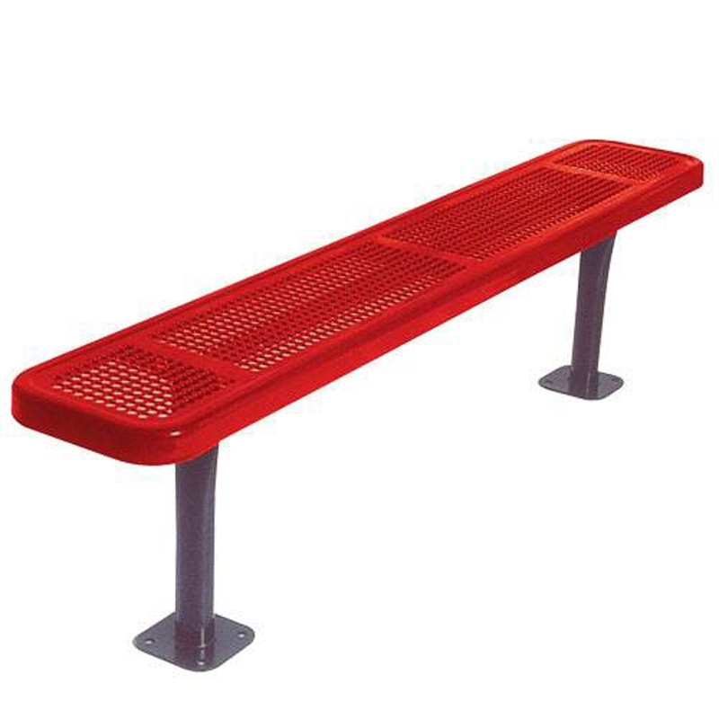 Stupendous Bsn Ultracoat Thermoplastic Coated Benches Without Back Support Bralicious Painted Fabric Chair Ideas Braliciousco