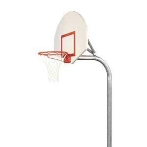 """Picture of Bison 3-1/2"""" Tough-Duty Basketball Playground System"""