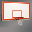 "Picture of Draper 72"" x 42"" Rectangular Wood Backboard"