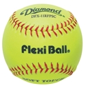 "Picture of Diamond Sports 11"" Synthetic Softball Flexiball"