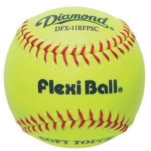"Picture of Diamond Sports 11"" Synthetic Softball Flexiball"