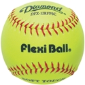 "Picture of Diamond Sports 12"" Synthetic Softball FlexiBall"