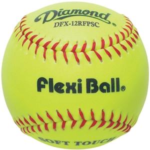 "Picture of Diamond Sports 12"" Synthetic Softball FlexiBall"