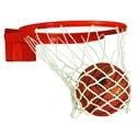 Picture of Bison Baseline Universal Prep 180° Breakaway Basketball Goal