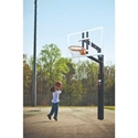 Picture of Bison ZipCrank Outdoor Basketball System