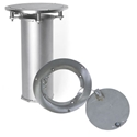 """Picture of Stackhouse 3"""" Stainless Steel Floor Plate & Sleeve"""