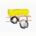 """Picture of PW Volleyball Boundry Markers - 1/4"""" Rope with 4 anchors 8371"""
