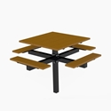 Picture of PW Athletic 4' Square Pedestal Table