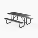 Picture of PW Athletic Extra Heavy-Duty Aluminum Picnic Table