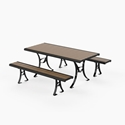Picture of PW Athletic Elan Series Table & Benches