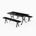 Picture of PW Athletic Hyde Park Series Table & Benches