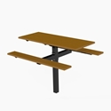 Picture of PW Athletic  Single Pedestal Table