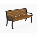 Picture of PW Athletic  Lincoln  Curved Back Benches